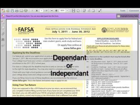How to fill out the FAFSA - Part 3 of 11