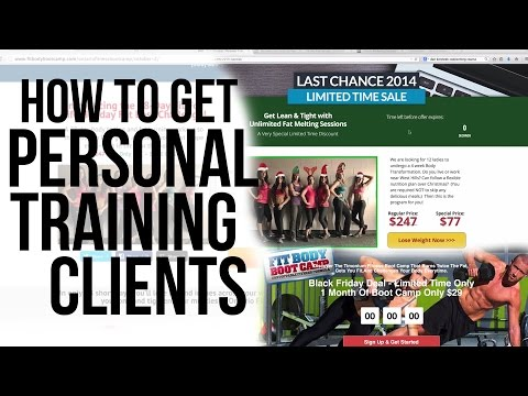 How to Get Personal Training Clients (webinar training)