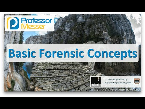 Basic Forensic Concepts - CompTIA Network+ N10-006 - 3.7