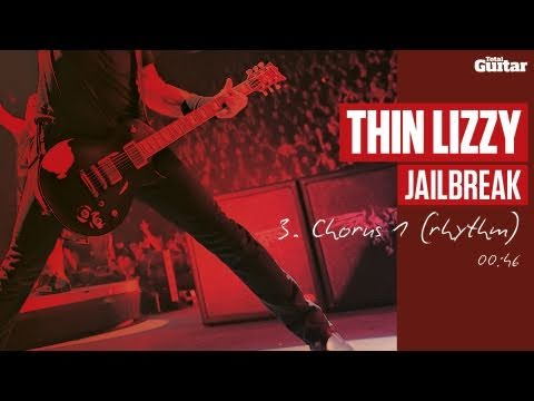 Guitar Lesson: Thin Lizzy 'Jailbreak' -- Part Three -- Chorus 1 (Rhythm) TG217