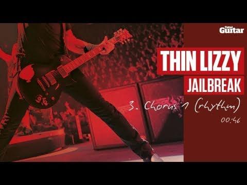 Guitar Lesson: Thin Lizzy 'Jailbreak' -- Part Three -- Chorus 1 (Rhythm) TG217
