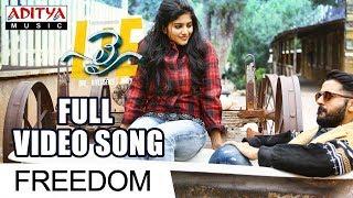 Freedom Full Video Song | Lie Video Songs | Nithiin , Megha Akash | Mani Sharma - ADITYAMUSIC