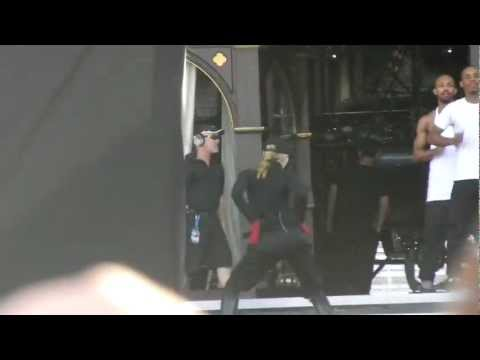 Madonna MDNA Buenos Aires: SOUNDCHECK Express Yourself (13/12/2012)