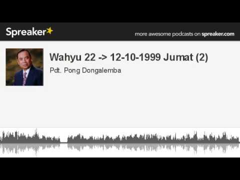Wahyu 22 - 12-10-1999 Jumat (2) (made with Spreaker)