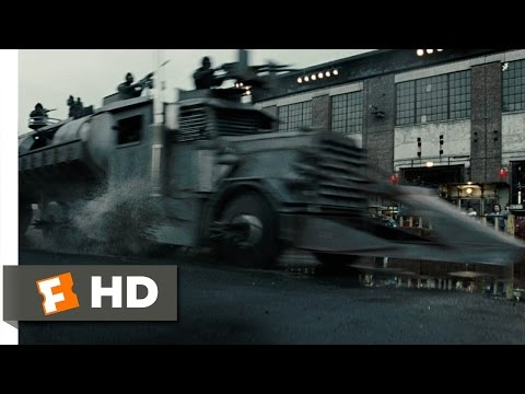 The Dreadnought Scene - Death Race Movie (2008) - HD