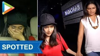 Shraddha Kapoor & her mom spotted at HAKKASAN in Mumbai - HUNGAMA