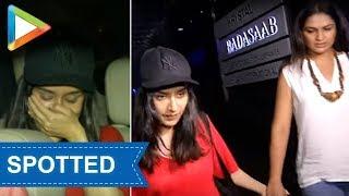 Shraddha Kapoor & her mom spotted at HAKKASAN in Mumbai - HUNGAMA