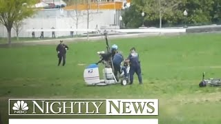 Mailman Charged In Gyrocopter Capitol Lawn Landing | NBC Nightly News - NBCNEWS