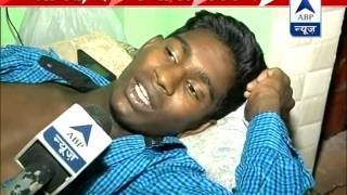 Trilokpuri violence l Police's bullet injured me, claims student - ABPNEWSTV
