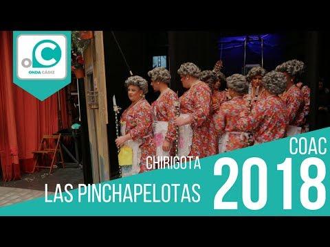 Sesión de Cuartos de final, la agrupación Las pinchapelotas actúa hoy en la modalidad de Chirigotas.
