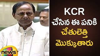 KCR Strong Reply To MLA Jagga Reddy And MLA Raja Singh | Telangana Assembly 2019 | Mango News - MANGONEWS