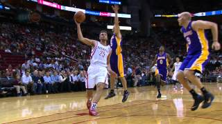 Chandler Parsons Dunks Over Chris Kaman With Ease
