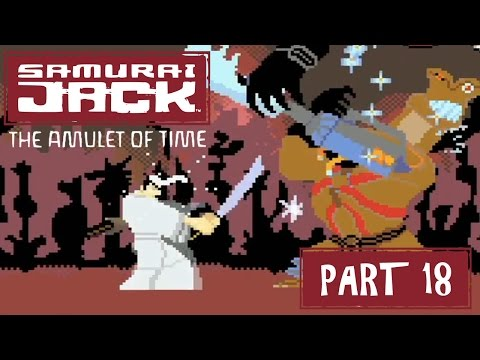 Samurai Jack: The Amulet of Time (GBA) Part 18 - Aku City | Too Much Gaming