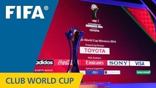 بث مباشر.. قرعة كأس العالم للأندية بالمغرب 2014