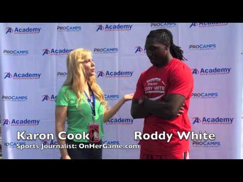 "Karon Cook & Roddy White: Talking ""Hard Knocks"""