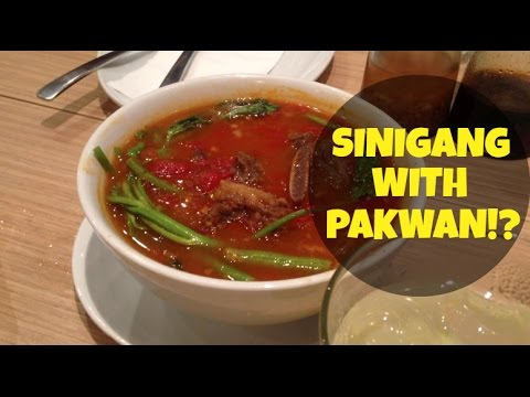 VLOG #65: SINIGANG WITH PAKWAN!? (July 20, 2014)