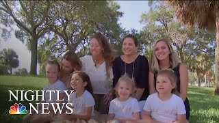 Four Girls Fight Through Cancer With Friendship | NBC Nightly News - NBCNEWS