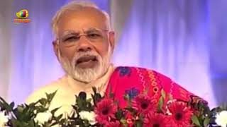 PM Modi Thanks to Who ever Helped in Fulfilling his Dreams for Young India | Mango News - MANGONEWS