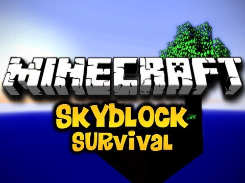 Minecraft Skyblock Survival Ep. 7 w/ Luclin & Wolv21 (HD)