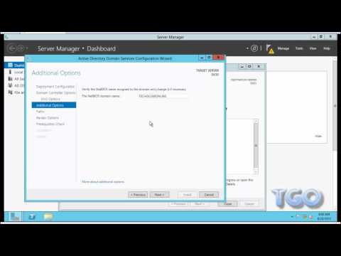 How to Create Windows Server 2012 RC as Domain Controller, DNS & DHCP Server
