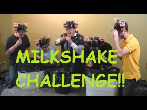 Funny Milkshake CHALLENGE cloned