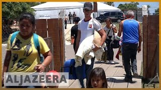 🇻🇪 🇧🇷 Venezuela crisis: More migrants cross into Brazil as aid standoff continues | Al Jazeera - ALJAZEERAENGLISH