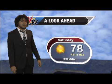 April 18, 2015 Afternoon Forecast