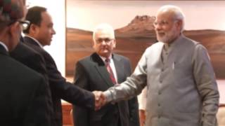 Nepal foreign minister meets India's Modi to invite him for SAARC meet - ANIINDIAFILE