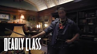 DEADLY CLASS | Studio Tour | SYFY - SYFY