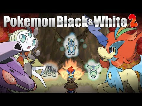 Pokémon Black & White 2 - Pokémon Black & White 2 [Meloetta Keldeo Genesect Events]