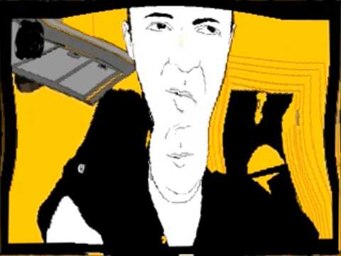 Digital Art Exploring Expressionism Rotoscope of Simon Smith by Jason Murray