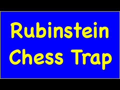 Chess Traps #2: Rubinstein Trap - Queen's Gambit Declined