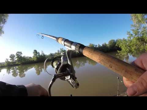 ловля леща на реке на кормушку для