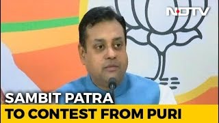 BJP Releases Third List Of Candidates, Sambit Patra To Contest From Puri - NDTV