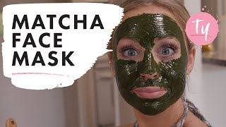 """I Did a Matcha Face Mask"" 
