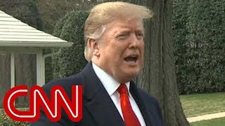 Trump: I don't mind if public sees Mueller report - CNN