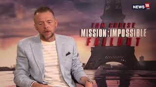 Rajeev Masand Interview With Simon Pegg | CNN News18 - IBNLIVE