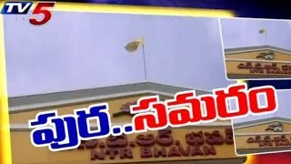 Political Parties Heats up Elections in Puttaparthi - TV5NEWSCHANNEL