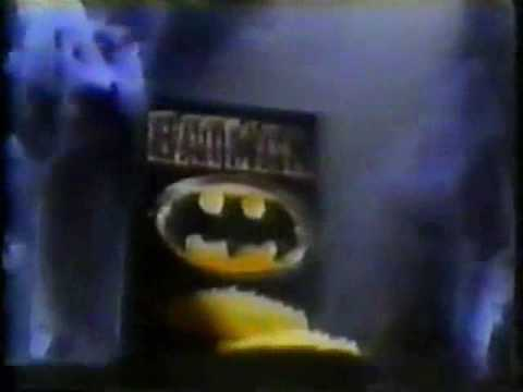 Batman 1989 Movie Commercials