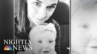 Man Gives His First-Class Seat On Flight To Mother With Ailing Baby | NBC Nightly News - NBCNEWS
