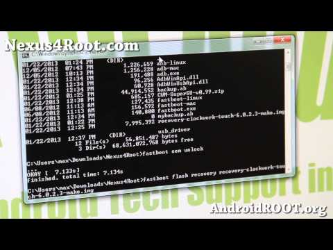 How to Root Nexus 4! [Android 4.2.1/4.2.2/4.3/4.4][ADB Backup]