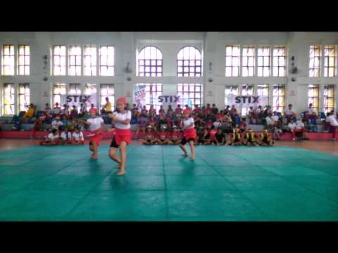 TAGUIG CITY UNIVERSITY WOMENS SYNCHRONIZE ESPADA Y DAGA