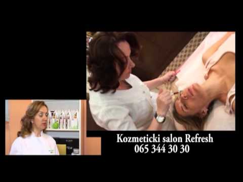 dr Ioanna Batsialou - salon Refresh - emisija Fashion Files