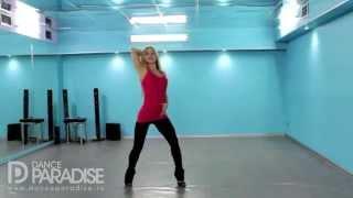 Видео уроки танцев – Go Go. Часть 7. [Школа Go-Go танцев Dance Paradise]
