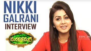 Actress Nikki Galrani Interview About Marakathamani | Interacting With Fans | TFPC - TFPC