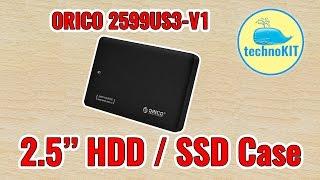 Отзыв про ORICO 2599US3 корпус HDD SSD SATA USB3.0 Распаковка Тест скорости Посылка с GearBest