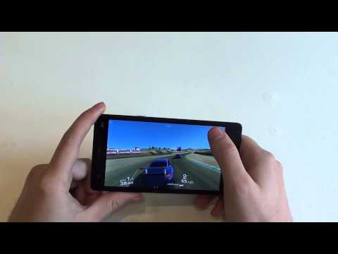 Mlais M52 test gaming Real Racing 3 by GizChina.it