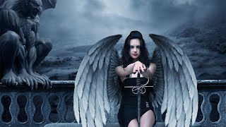 Make an evil angel in Photoshop – (PSD Box)