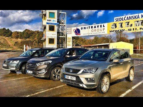 Autoperiskop.cz  – Výjimečný pohled na auta - Jaké je nejlepší české SUV? Seat Ateca, Hyundai Tucson nebo Škoda Yeti?