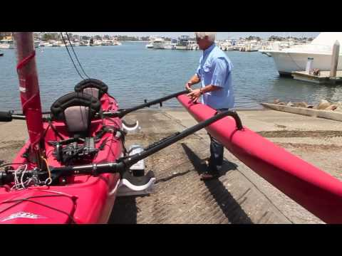 "Hobie Mirage Tandem Island Trailer ""How To"" HD"